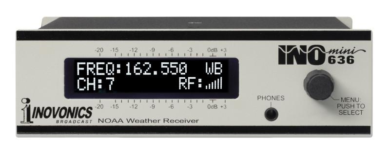 INOmini NOAA Weather Receiver - Model 636 | Inovonics