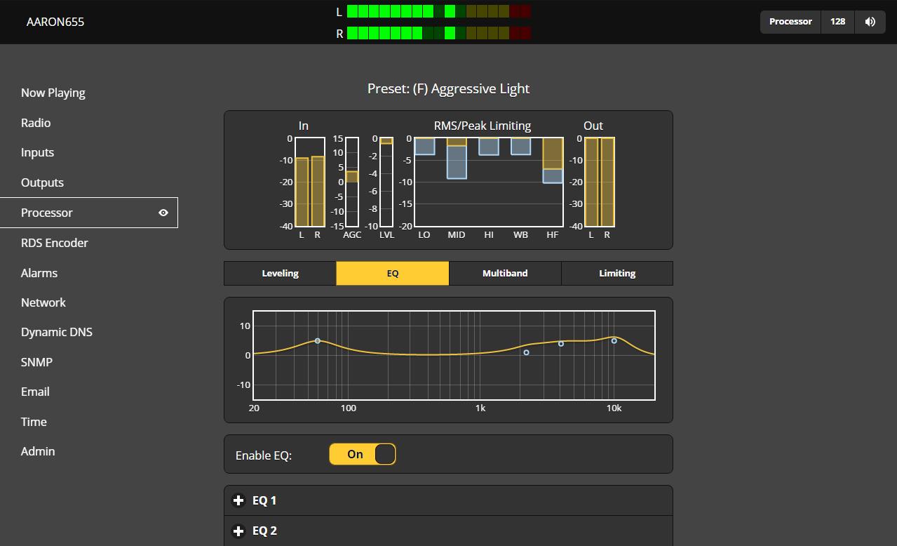 Aaron Fm Hd Radio Rebroadcast Receiver Model 655 Inovonics Broadcasting Stereo Encoder Product Image