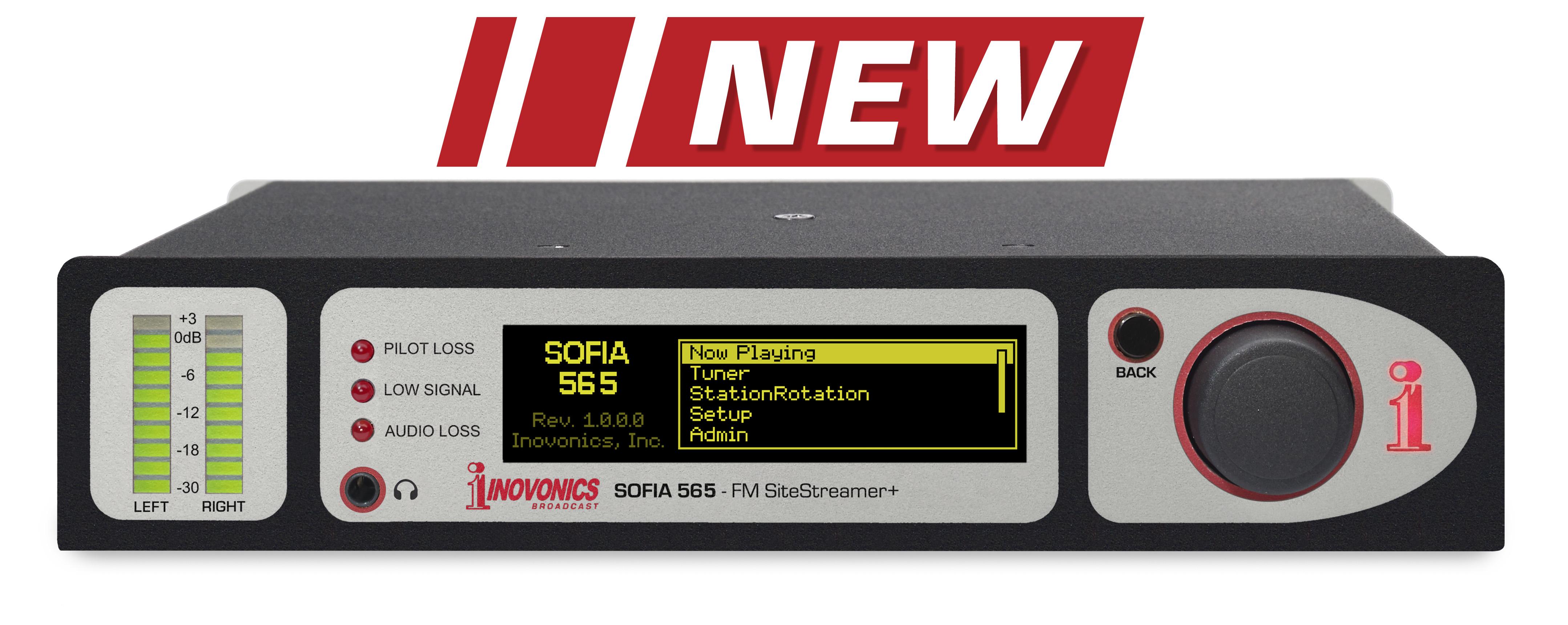 Sofia Fm Sitestreamer Model 565 Inovonics Broadcast Inc